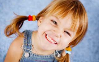 Неправильный прикус молочных зубов