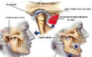 Болит нижняя челюсть