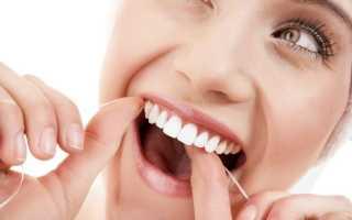 Зубная нить вощеная и невощеная