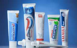 Классификация зубных паст