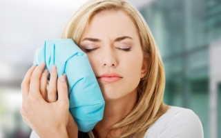 Как снять опухоль при флюсе