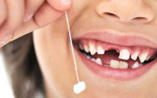 Порядок прорезания зубов