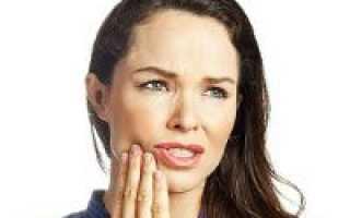 Болит здоровый зуб